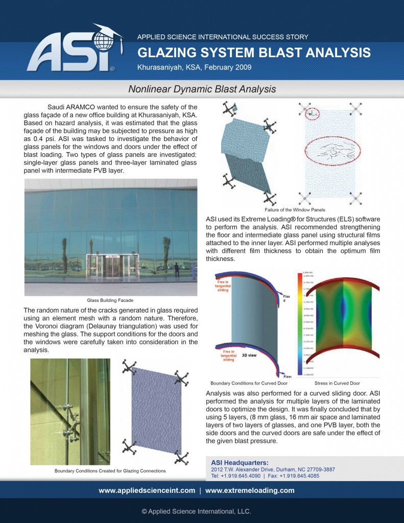 Case Study: Glazing Blast Analysis