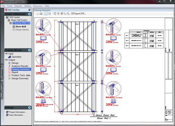 Layout & Details Drawing Generator