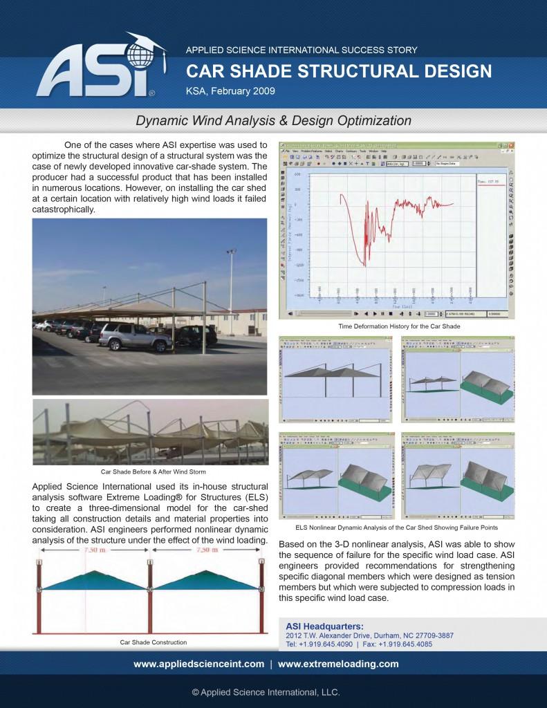 Case Study: Car Shade Wind Analysis