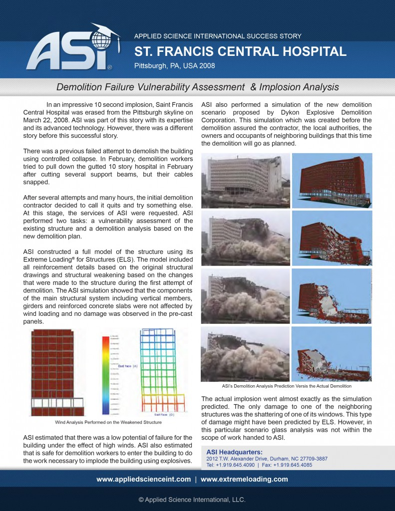 Case Study: St. Francis Hospital Demolition