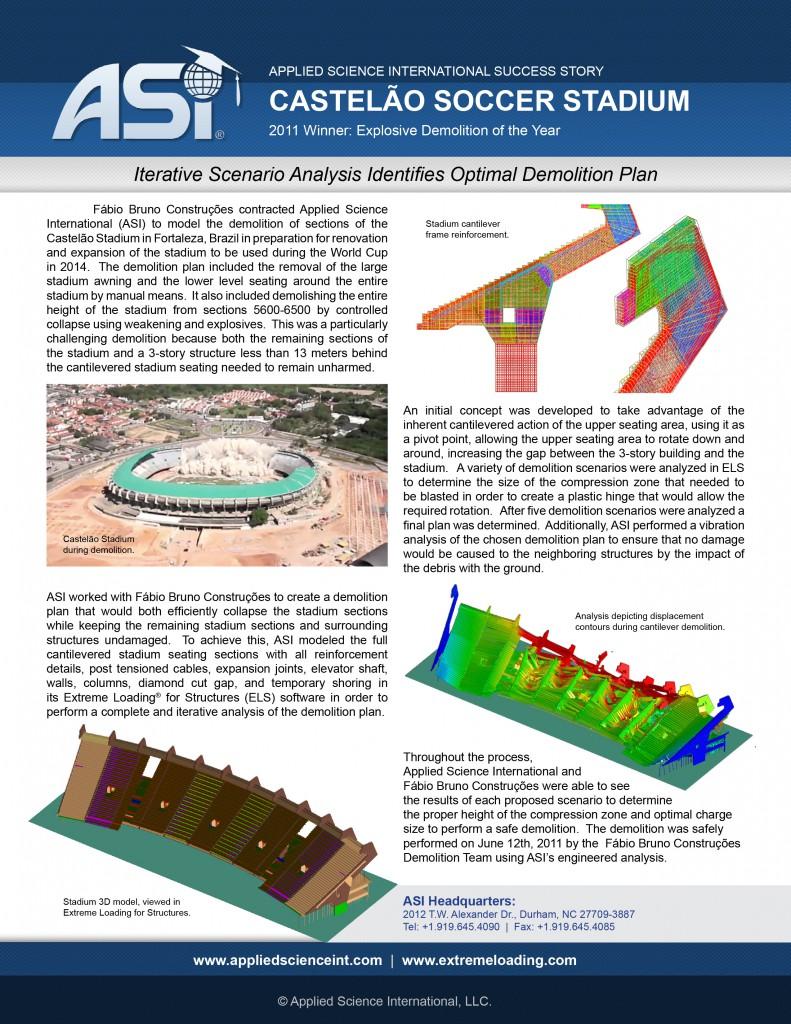 Case Study: Castelão Stadium