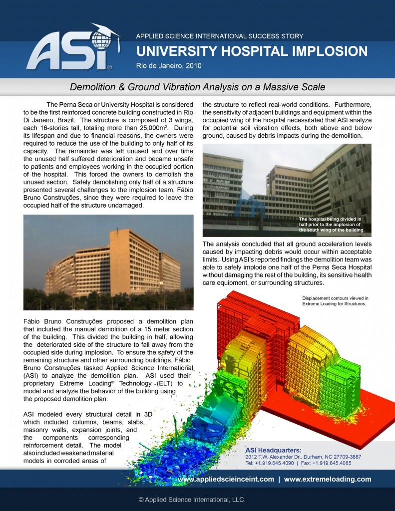 Case Study: University Hospital Implosion